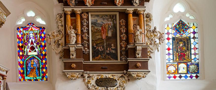 Prachtvolle Kapelle